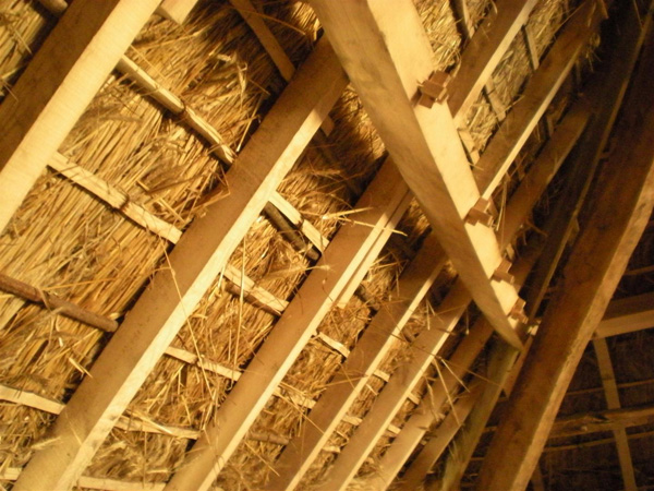 Thatch Roof Construction & Roof Structure